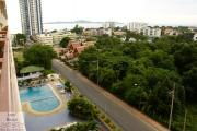 Condo for rent Pratamnak Hill 1 bedrooms 1 bathrooms  8 floor 18,000 Baht per month