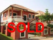 2 storey house for sale Tappraya Road 3 bedrooms 2 bathrooms 200 sqm land 2,590,000 Baht