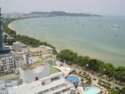 Condo for rent Pattaya Beach Rd., 1 bedrooms 1 bathrooms 45 sqm living area 21 floor 18,000 Baht per month